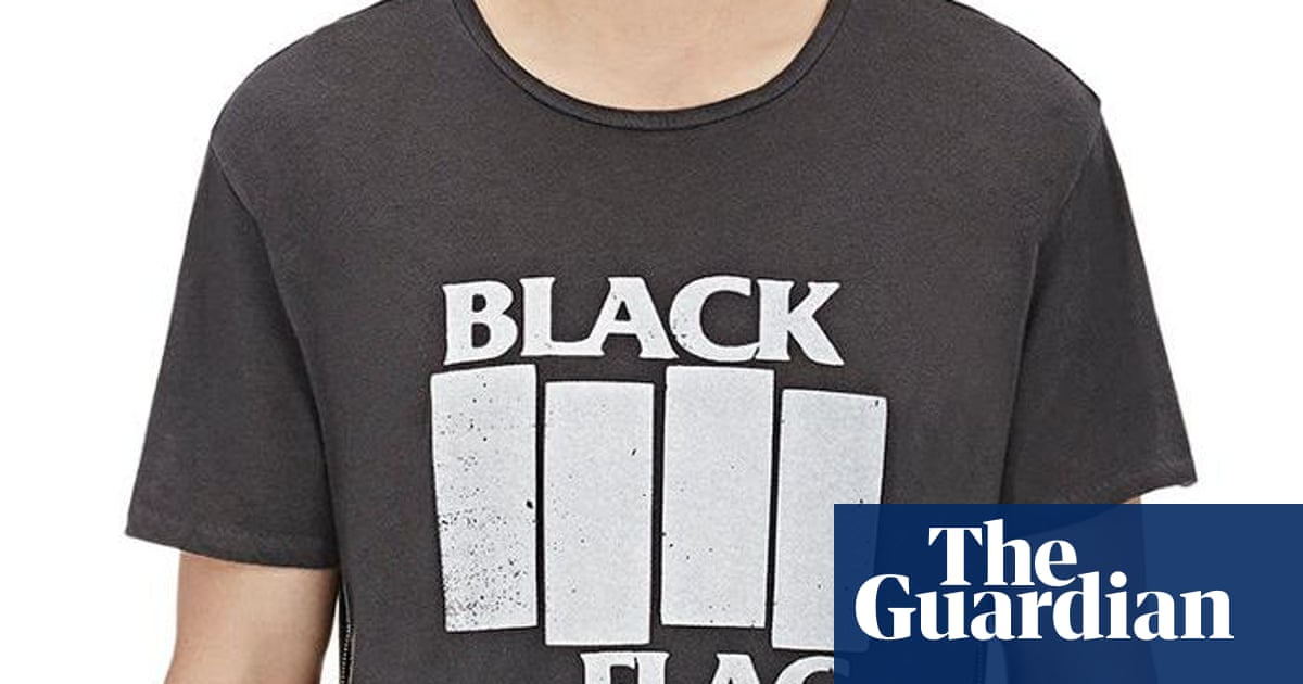 8ca65190 From Black Flag to Joy Division: the retro band T-shirts selling for $265