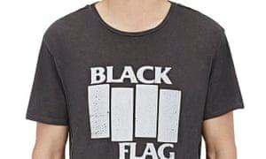 a repro vintage Black Flag T-Shirt for $265.