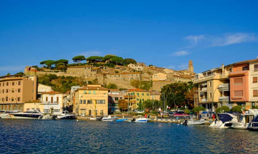 The former fishing village of Castiglione della Pescaia
