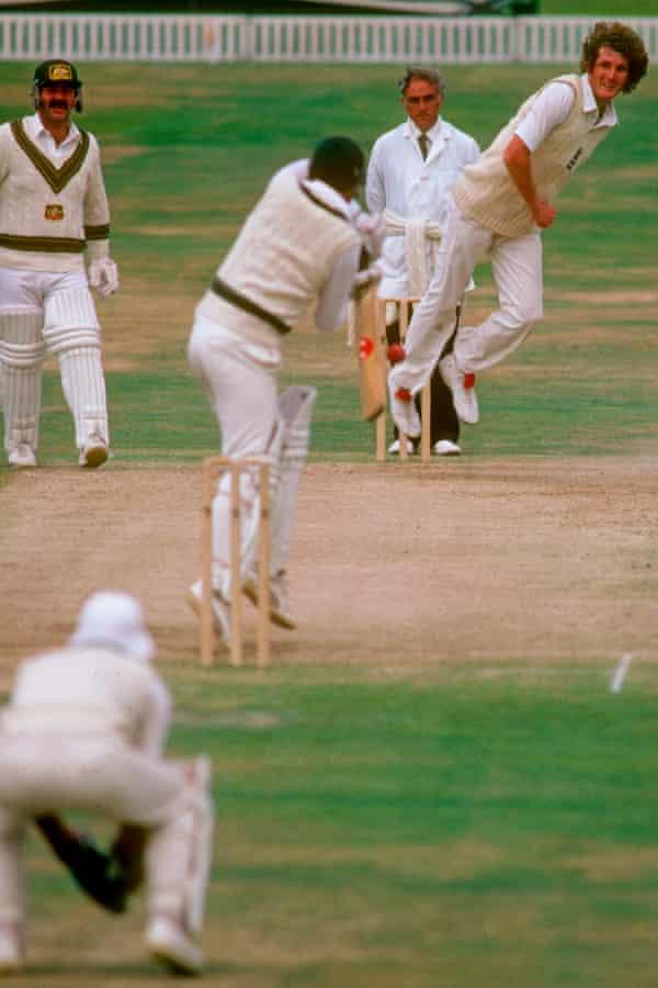Bob Willis tore through Australia's batsmen to bring England victory at Headingley in 1981