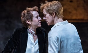 Lia Williams and Juliet Stevenson in Mary Stuart.