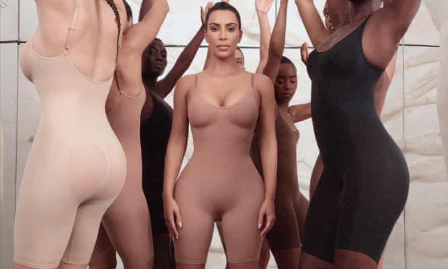 Kim Kardashian Wests's Kimono shapewear.
