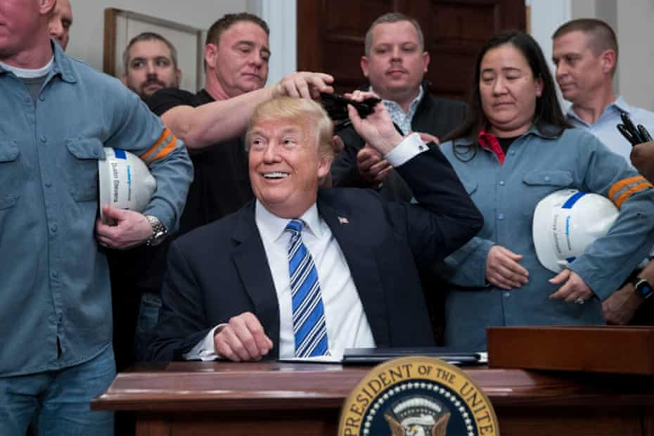Donald Trump signs Section 232 Proclamations on steel imports