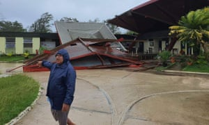 Tropical Cyclone Harold intensified to Category 5 devastating Luganville, the second-largest city in the country.