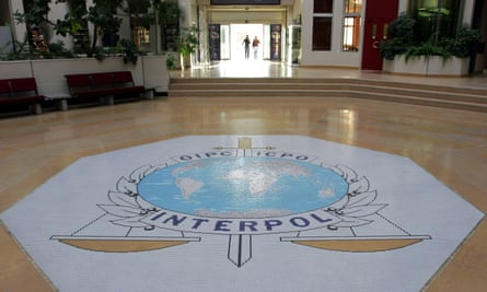 Interpol's headquarters in Lyon, France.