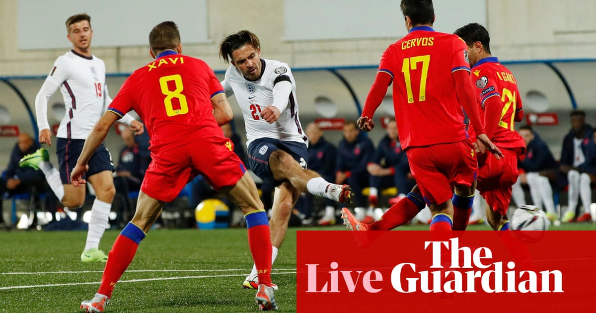 Andorra 0-5 England: World Cup qualifier – as it happened
