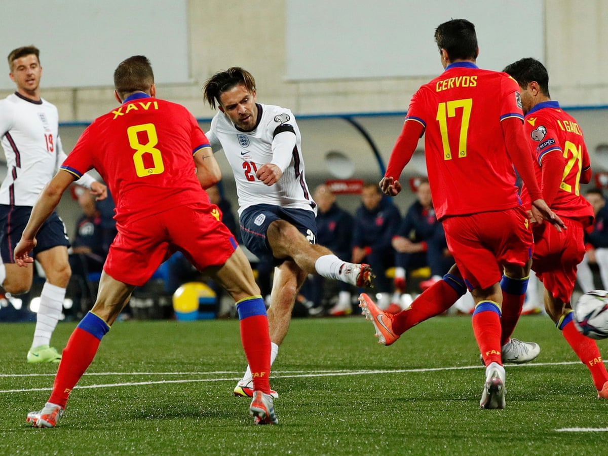 Andorra 0-5 England: World Cup qualifier – as it happened | Football | The Guardian