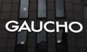Steak restaurant Gaucho