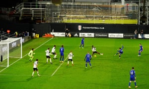 Chelea's Mason Mount fires home the opening goal.