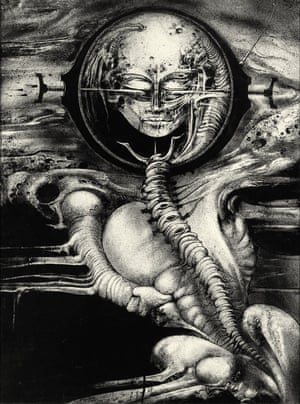 Giger has also provided work for Kord, Dead Kennedys and Deborah Harry