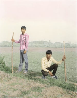 Young Warriors, Sitamarhi, Uttar Pradesh, India, 2015. From the series a Myth of Two Souls