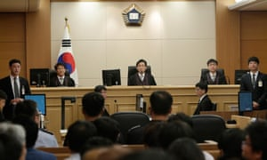 Gwangju high court: Sewol victims' relatives criticised the earlier sentence at the time, saying it was too lenient.