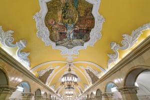 Moscow, Komsomolskaya