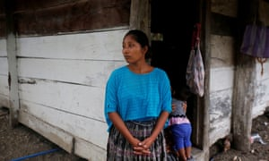 Claudia Marroquin, 27, the mother of Jakelin Amei Rosmery Caal, seven, who died in a Texas hospital two days after being taken into custody by US border patrol agents.