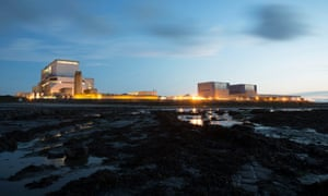 Hinkley Point A and B nuclear power stations. MPs have warned UK's nuclear future is at risk from Brexit.