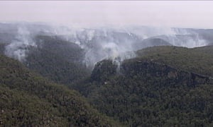 Bushfire Blue Mountains