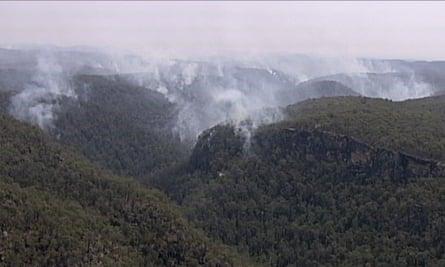 Bushfire Blue Mountains