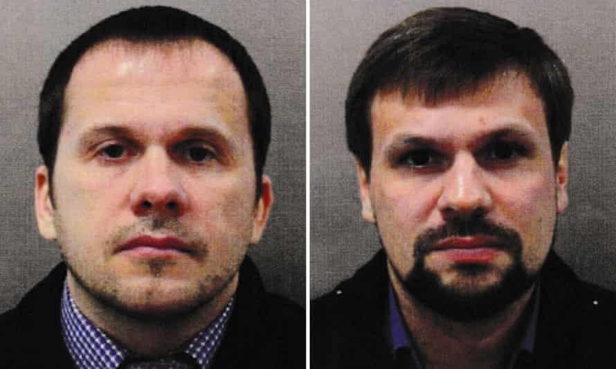 Alexander Petrov and Ruslan Boshirov