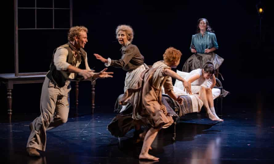 A scene from Playing Beatie Bow Wharf 1 Theatre, Sydney Theatre Company