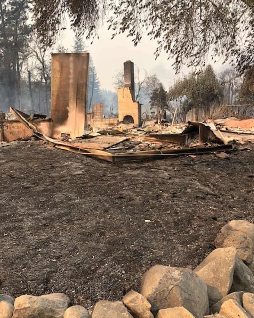 Jill Richardson's home in Santa Rosa was destroyed in 2017 by the Tubbs fire.