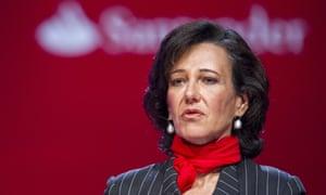 Santander sets aside another 450m as ppi still haunts uk banks ana botn santanders executive chairman spiritdancerdesigns Gallery