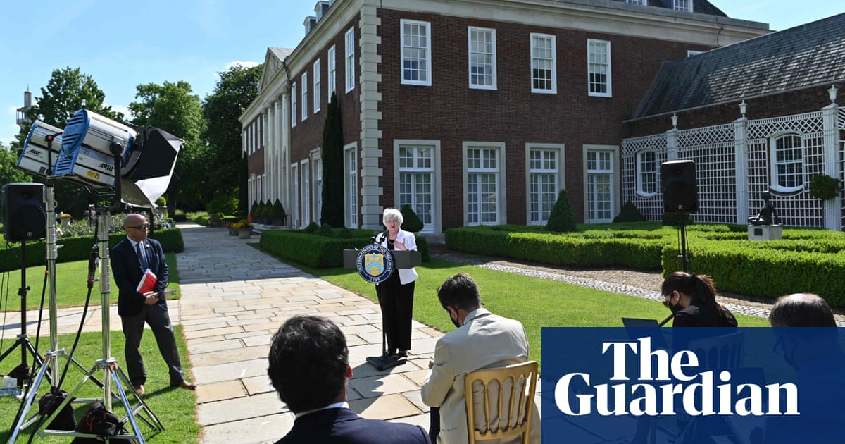 G7 plan 'will slash UK tax revenue from US tech firms' say experts