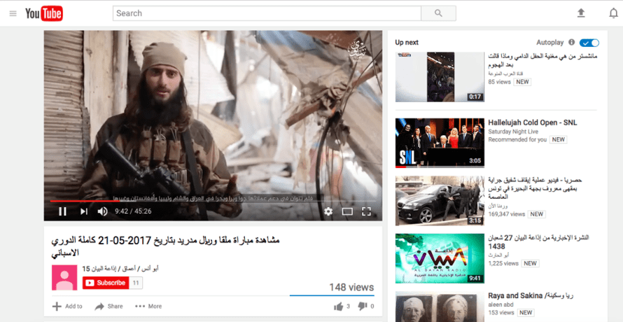 Isis propaganda video calling on US-based radicals to carry out terror attacks.