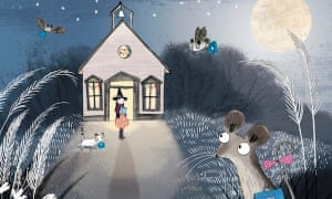 Mouse's First Night at Moonlight Schoo
