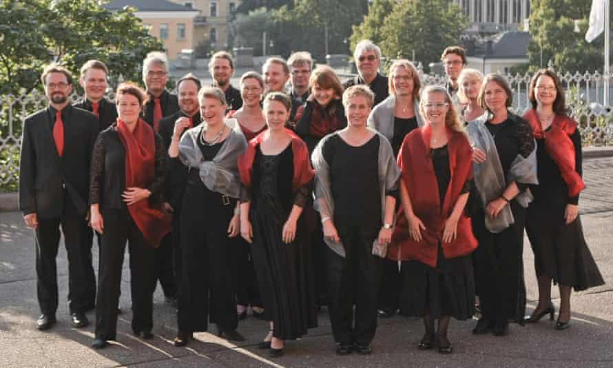 Subtle transformations … the Helsinki Chamber Choir