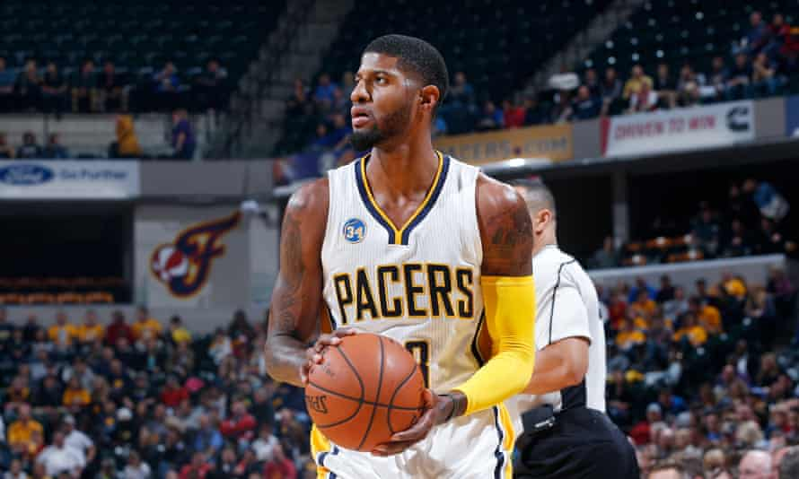 George helps the Pacers defeat the Magic in November.