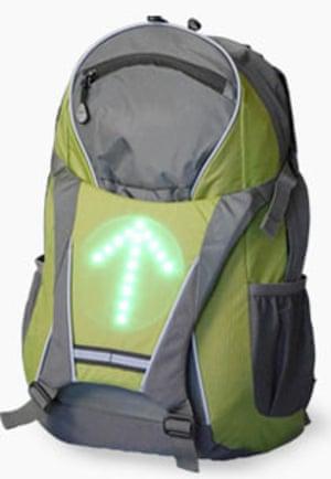Cyndicate Backpack wireless bike indicators Christmas 2016 Christmas 2016