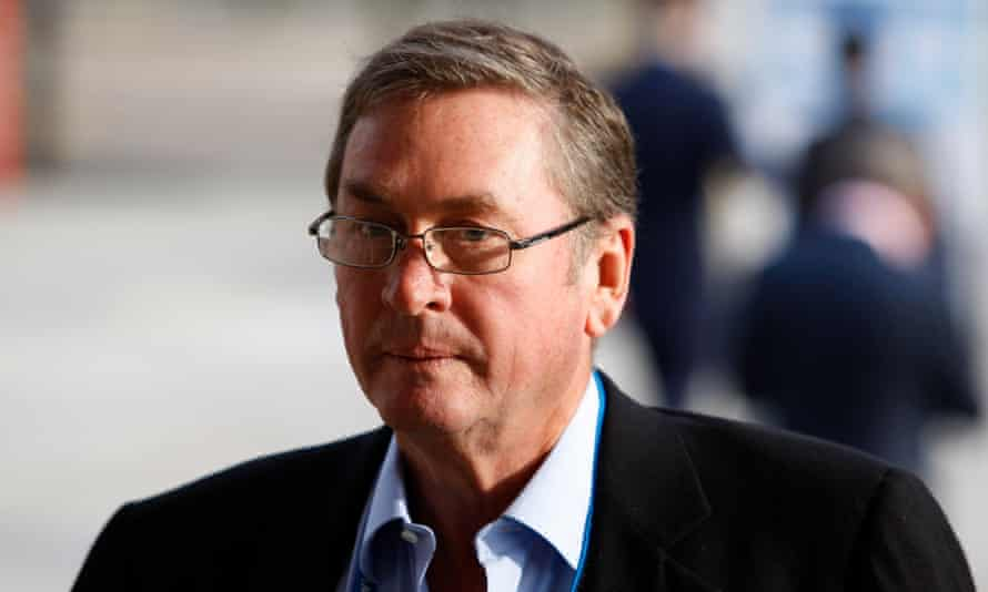 Lord Ashcroft is seen at the Conservative party conference, in Manchester in 2009.