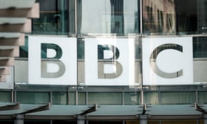 BBC logo on Broadcasting House
