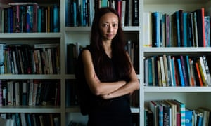 Artist Amy Cheung at her home in Hong Kong.