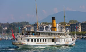 Back in time: a harbour cruise on Lake Geneva.