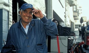 Garry Marshall on the set of The Princess Diaries in 2001.