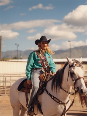 image from Luke Gilford's book on queer rodeo culture