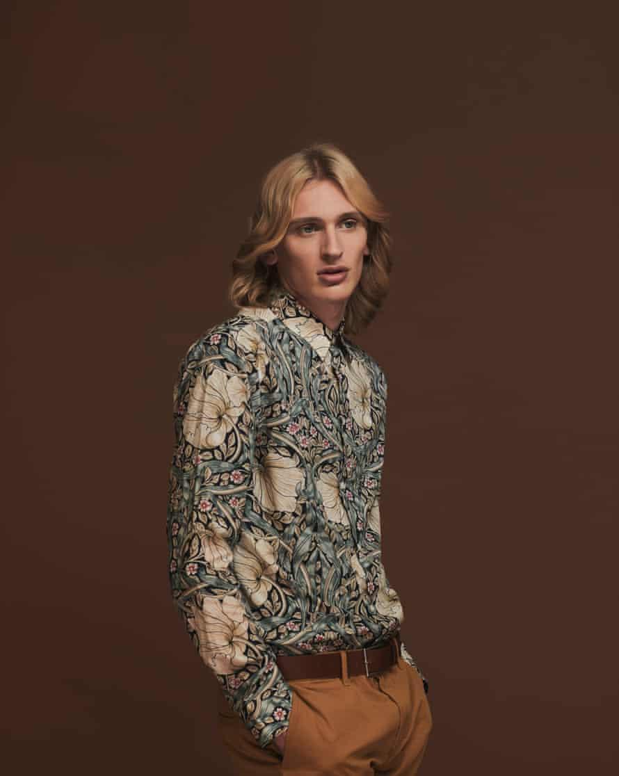 Men's printed shirt, £24.99