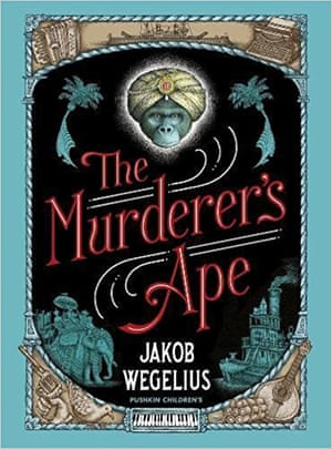 The front cover of Murderer's Ape