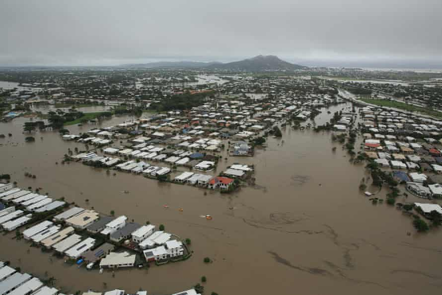 Flooding in Townsville, north Queensland, in February 2019.