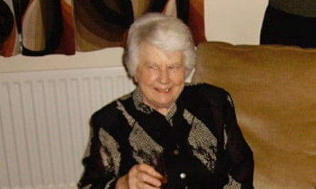 Vivienne Blackburn on her 80th birthday
