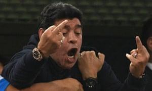 Diego, telling it as he sees it.
