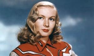 Veronica Lake, 1950.