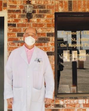 Dr Christy Montegut, the St John the Baptist coroner.