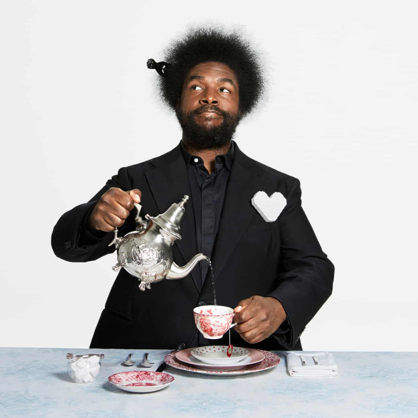 Questlove: bagels with Amy Winehouse, fish and chips with the Roots
