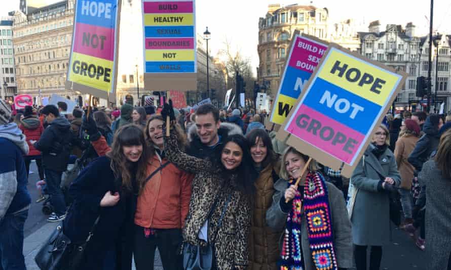 Women's March on London.