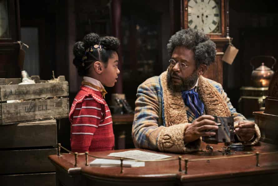 Madalen Mills and Forest Whitaker in Jingle Jangle.