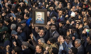 Iranians take to the streets as they mourn the death of Qassem Soleimani.