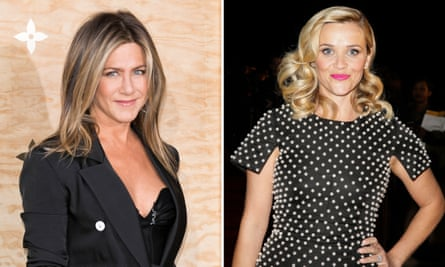Jennifer Anniston and Reese Witherspoon are to star in Apple's drama series.