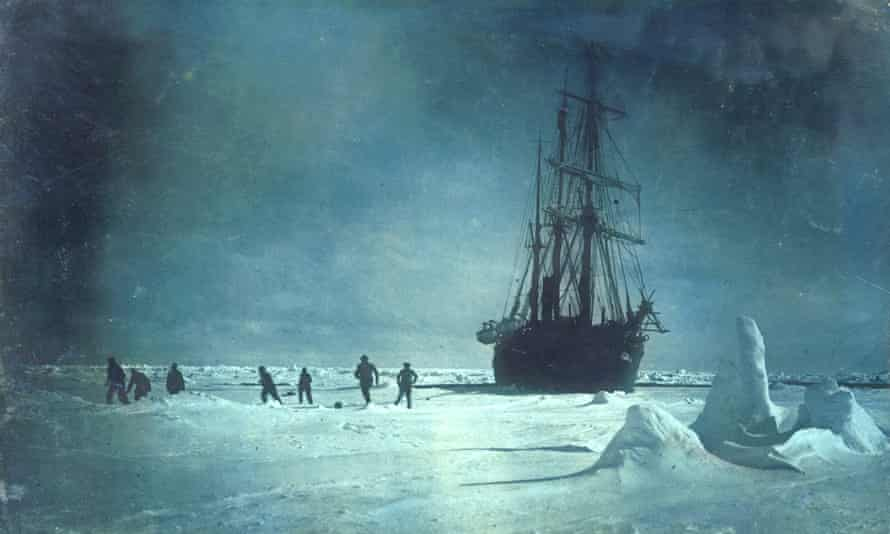 Shackleton's Endurance trapped in ice